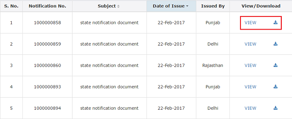 Viewing GST Law Notification Image 4