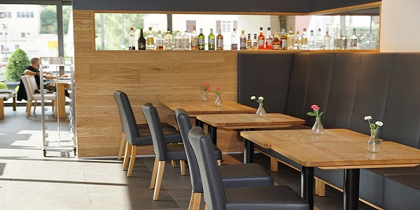 cafe canteen dining tables restaurant furniture
