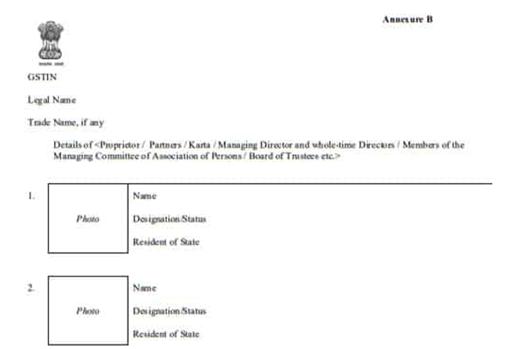 GST Registration Certificate Iamge 5