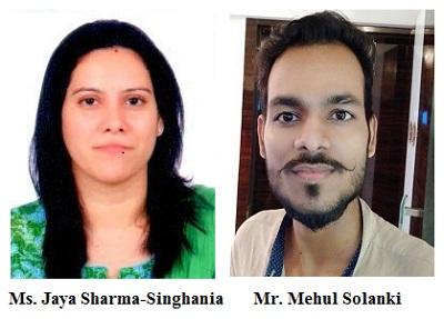 Ms. Jaya Sharma-Singhania & Mr. Mehul Solanki