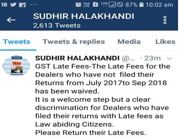 Sudhir Halakhandi Tweets