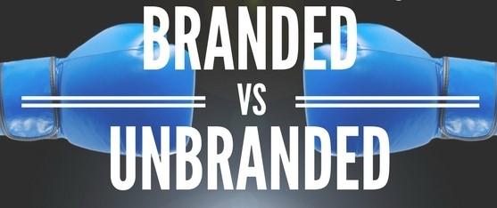 Brand Vs Unbranded