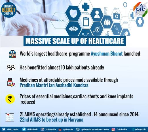 Massive Scale Up of Healthcare