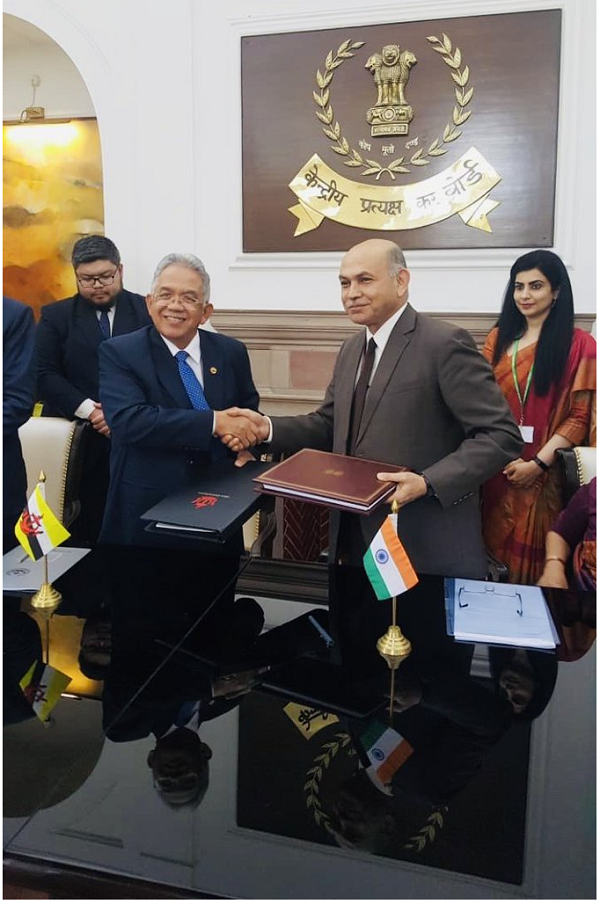 TIEA between India and Brunei signed