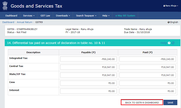 How to file Form GSTR-9 (GST annual return) images 11