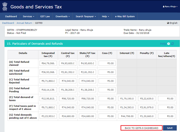 How to file Form GSTR-9 (GST annual return) images 17