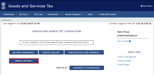 How to file Form GSTR-9 (GST annual return) images 2