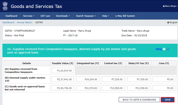 How to file Form GSTR-9 (GST annual return) images 21