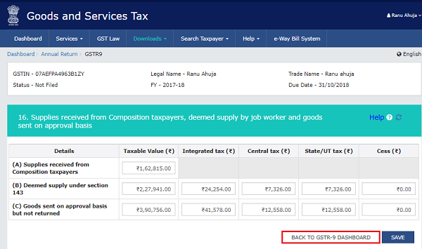 How to file Form GSTR-9 (GST annual return) images 23