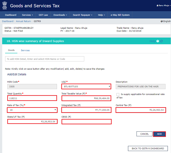 How to file Form GSTR-9 (GST annual return) images 37