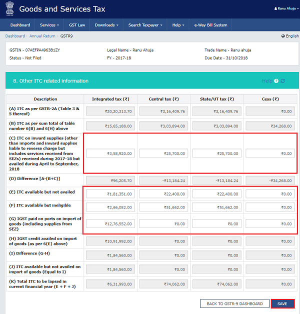 How to file Form GSTR-9 (GST annual return) images 42