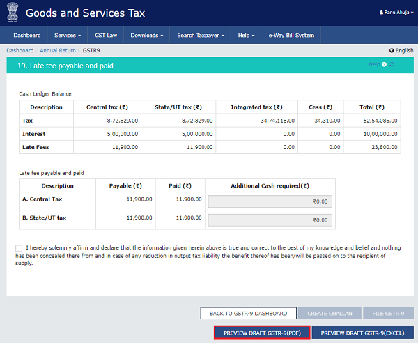 How to file Form GSTR-9 (GST annual return) images 61