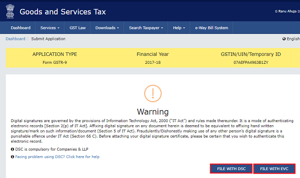 How to file Form GSTR-9 (GST annual return) images 67