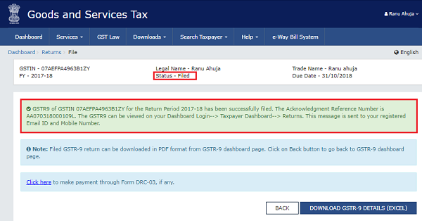 How to file Form GSTR-9 (GST annual return) images 69