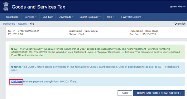 How to file Form GSTR-9 (GST annual return) images 70