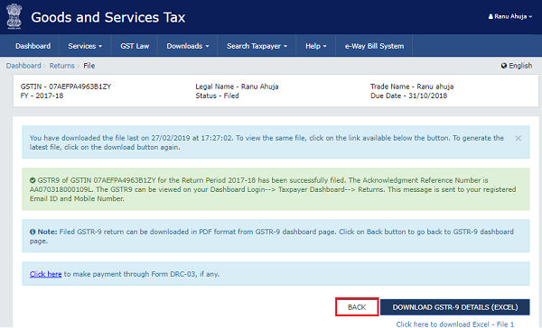 How to file Form GSTR-9 (GST annual return) images 74