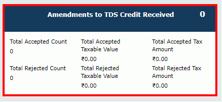 TDS and TCS Credit Received Image 11