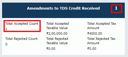 TDS and TCS Credit Received Image 15