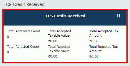 TDS and TCS Credit Received Image 18