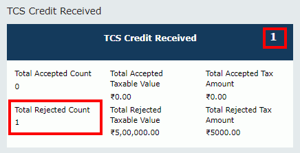 TDS and TCS Credit Received Image 24