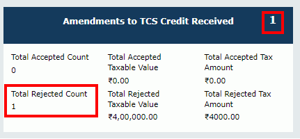 TDS and TCS Credit Received Image 31