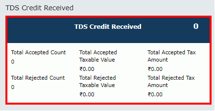 TDS and TCS Credit Received Image 4