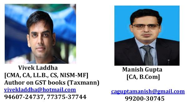 Vivek Laddha & Manish Gupta