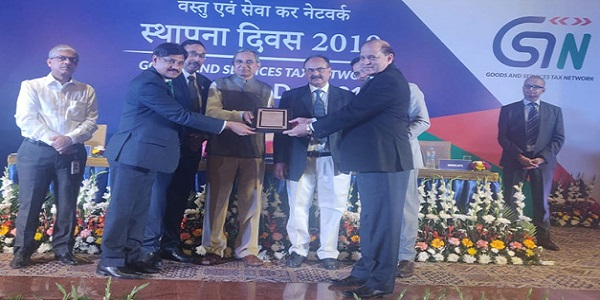 ICAI felicitated by GSTN