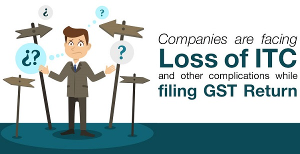 LOST of ITC GST Return filing
