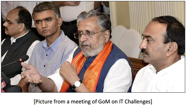 Meeting of GOM on it Challenges