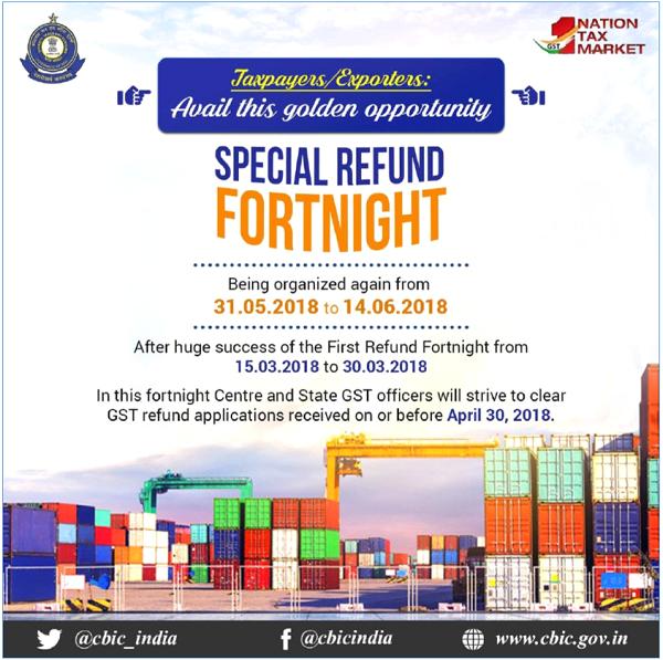 Special Refund Fortnight
