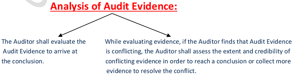 Analysis of Audit Evidence