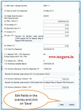 e- Tutorial on Online TDS / TCS Challan Correction | TaxGuru