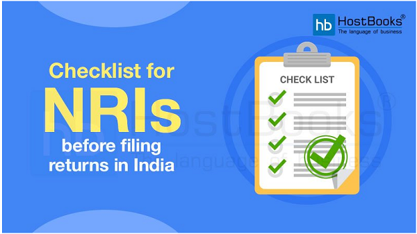 Checklist for NRI's