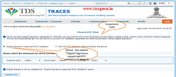 Digital Signature (without KYC) contd