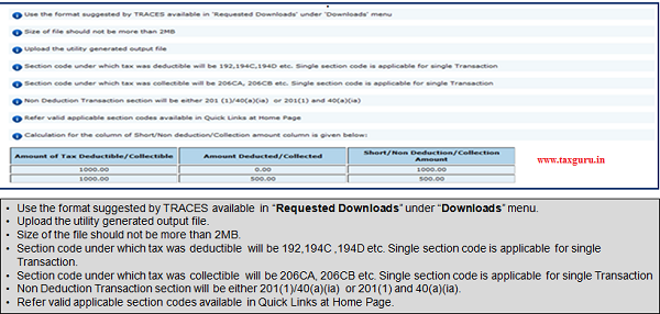 """Format suggested by TRACES available in """"Requested Downloads"""" under """"Downloads"""" menu"""
