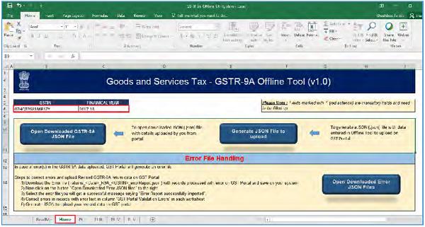 GSTR-9A Offline Utility Image 17