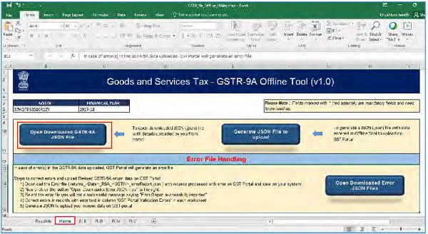 GSTR-9A Offline Utility Image 18