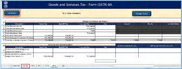 GSTR-9A Offline Utility Image 43