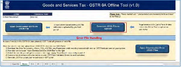 GSTR-9A Offline Utility Image 44