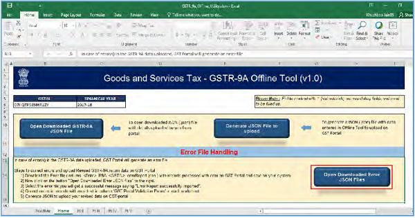GSTR-9A Offline Utility Image 64