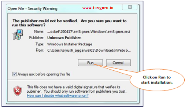 How to Download & Install TRACES Web Socket Emsigner