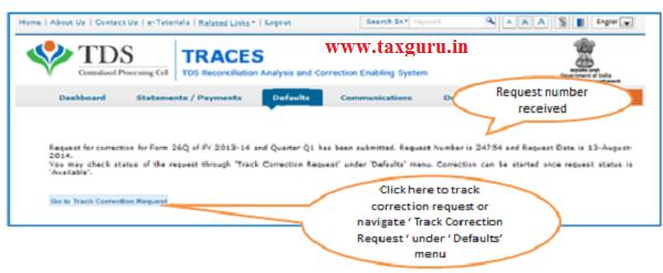 Online Correction Request Flow image 3