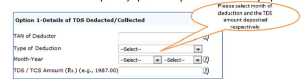 """Register as New User – Step 1 """"Option 2""""Validation Details"""