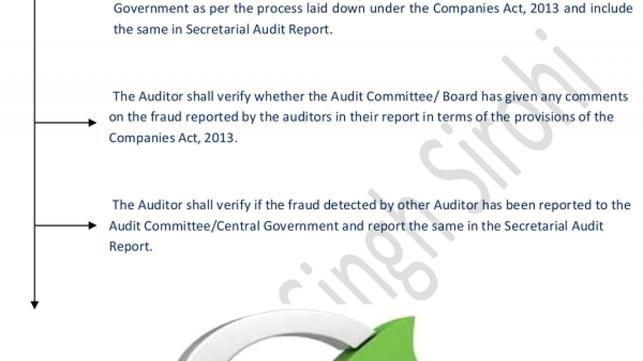 Icsi Auditing Standards