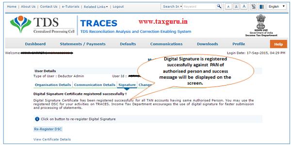 TRACES Web Socket Emsigner- Crypto Token usage image 3