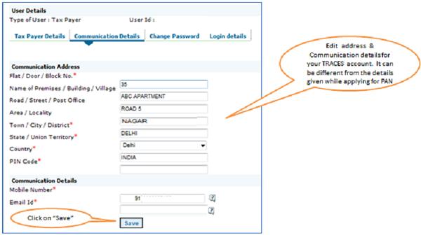 How a NRI Taxpayer can Register on TRACES Portal – I V & Associates