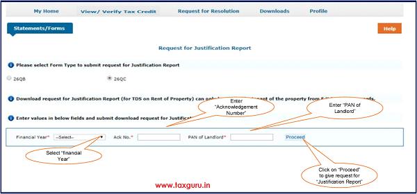 E Tutorial 26qc Justification Report Taxguru