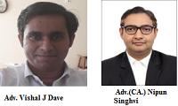 Nipun Singhvi Vishal J Dave