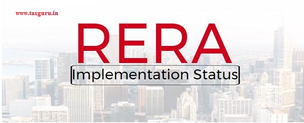 RERA implementation